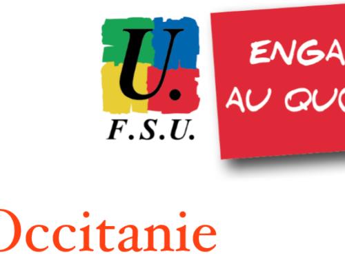 Audience FSU Occitanie-Conseil Régional